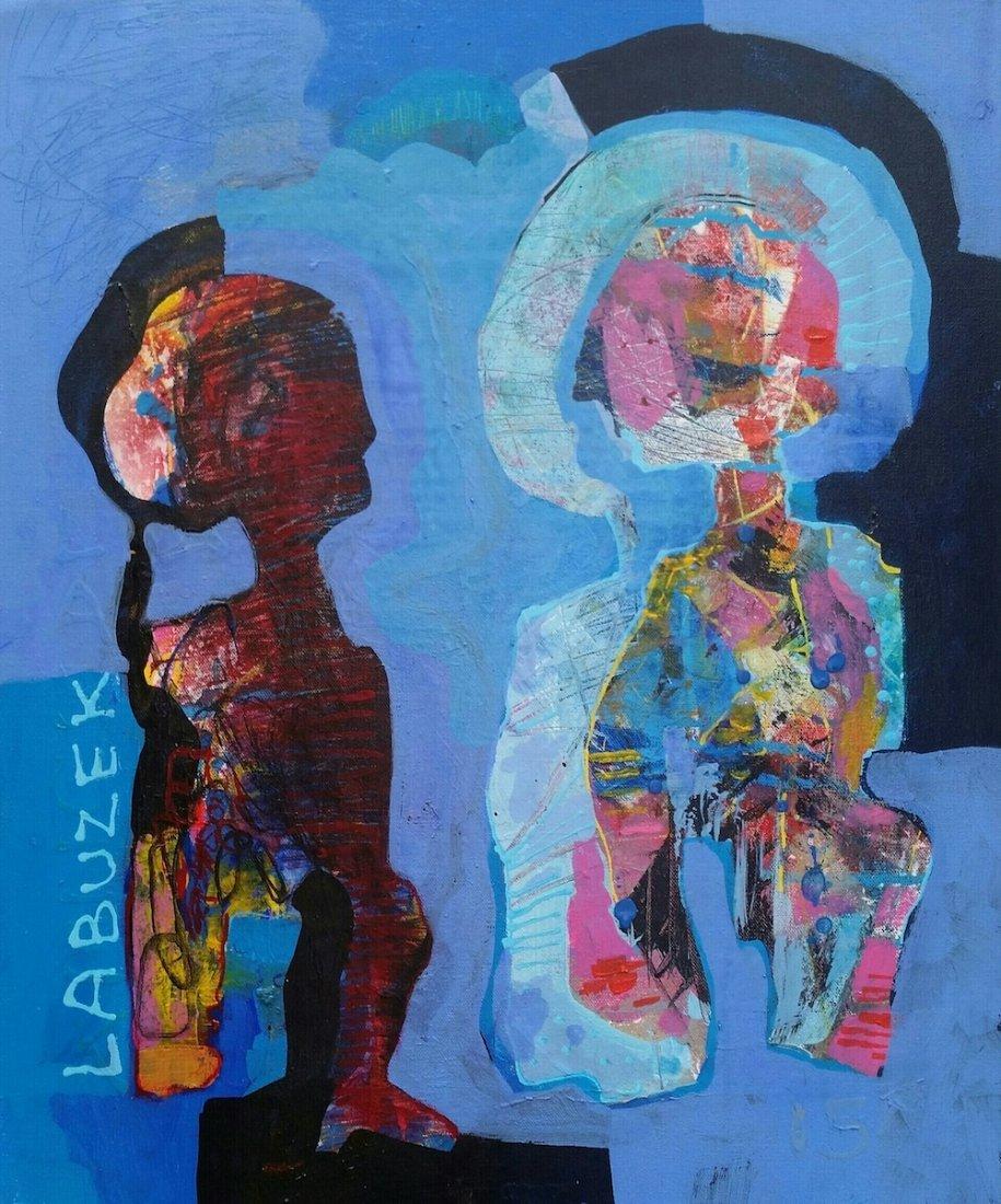 Dariusz Labuzek Mixed Media on Canvas American Art