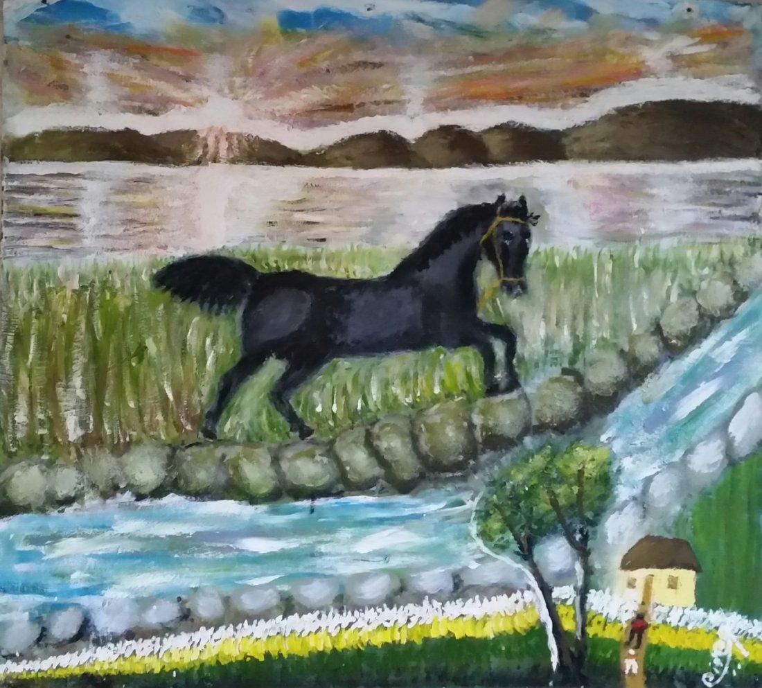 Latin American Art Cheo Delgado Horse