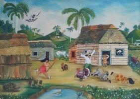 Naive Art Latin American Caribbean Alberto Chile
