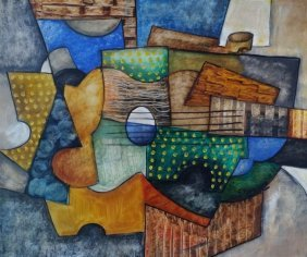 George Braque Abstract Cubism French (1882-1963)