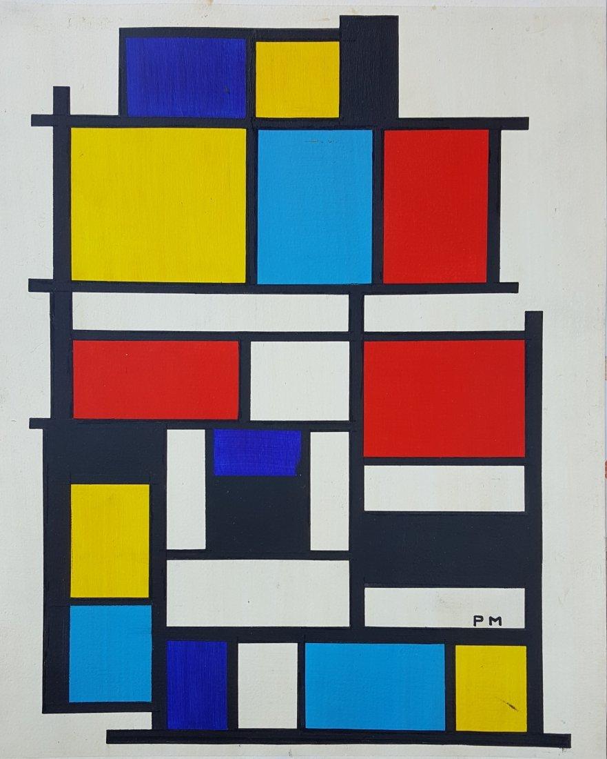 Piet Mondrian Neoplasticism Dutch (1872-1944)