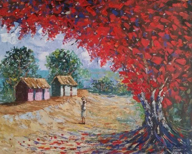 Latin American Caribbean Art Landscape Karl Reynolds