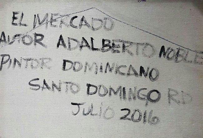 Adalberto Noble Latin American Art Naif Naive - 3