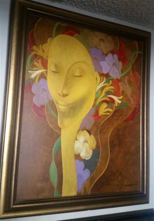 Important Haitian Art Bernard Sejourne (1947-1994)