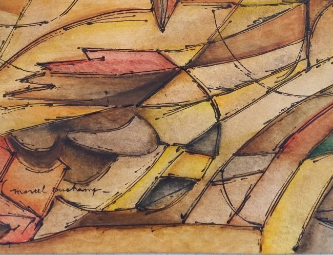 Marcel Duchamp Abstract Cubism French American 1887 - 2