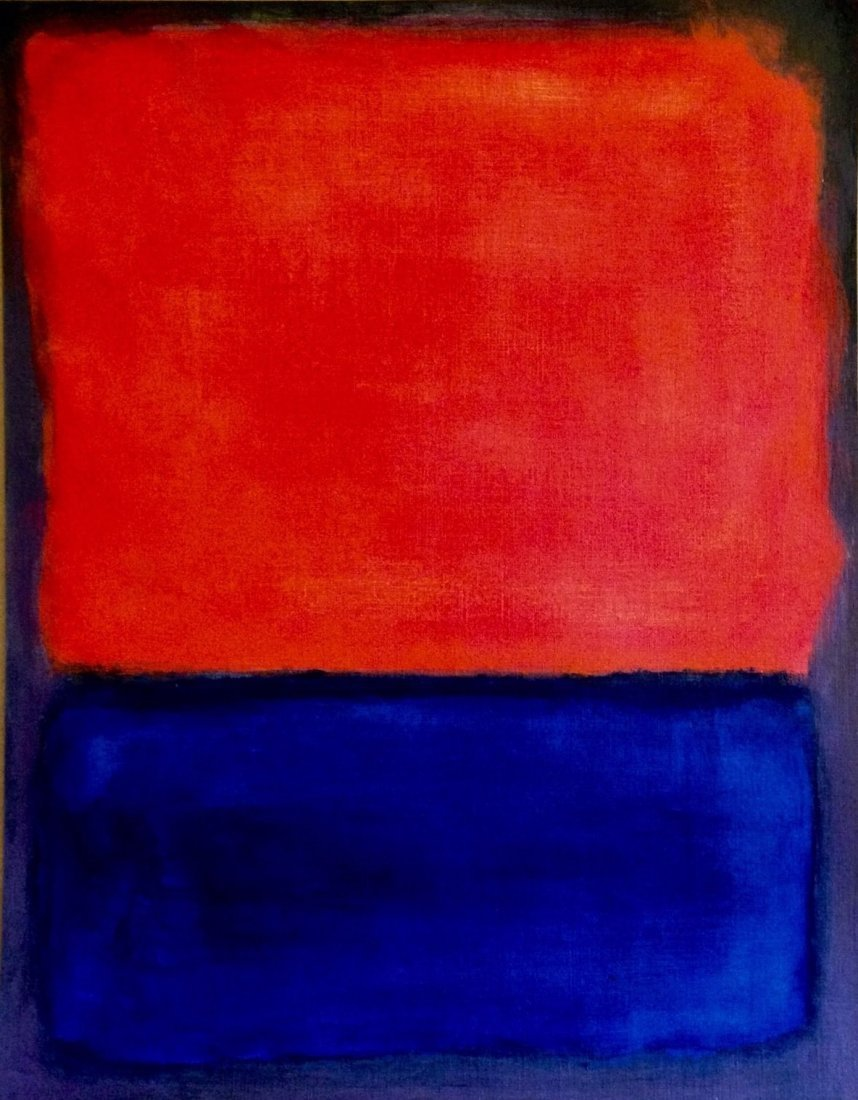Mark Rothko Abstract American Russian 1903 –1970 - 2