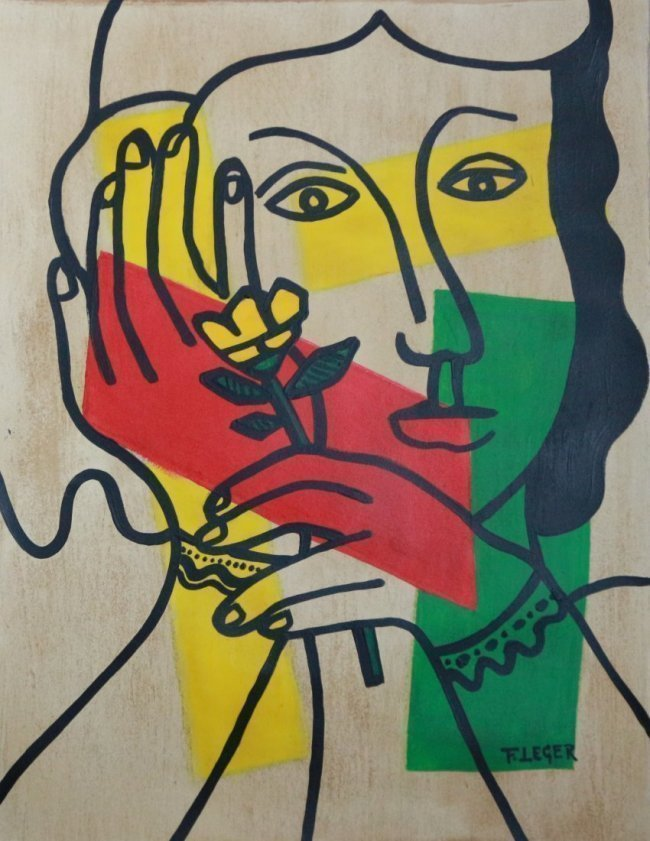 Fernand Leger Mixed Media on Paper, French 1881-1955 - 3