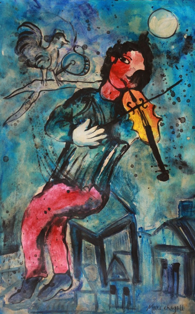 Marc Chagall (1887-1985), Russian French Art