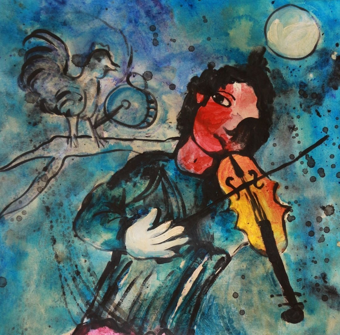 Marc Chagall (1887-1985), Russian French Art - 2