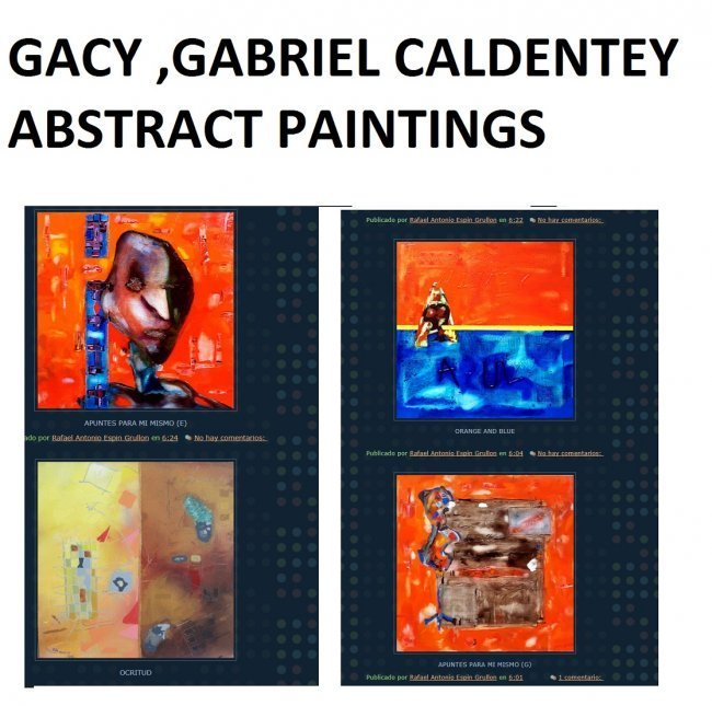 ART CARIBBEAN LATIN AMERICAN DOMINICAN REPUBLIC GACY - 5