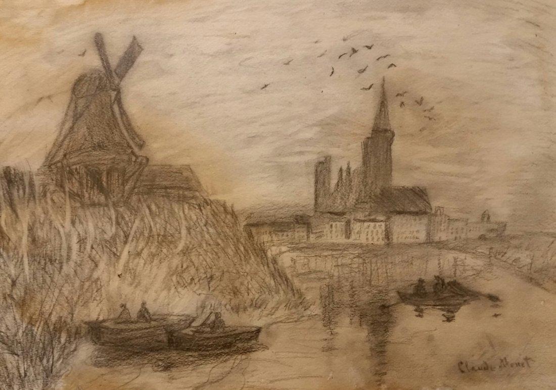 Claude Monet French Urban Landscape (1840-1926)