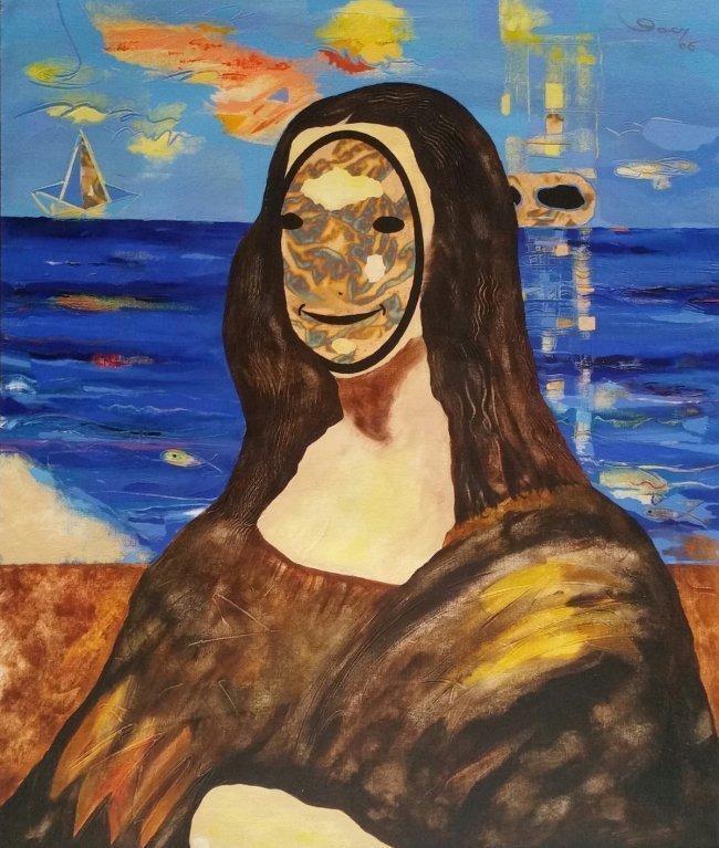 Homage to Leonardo Da Vinci Latin American Gacy