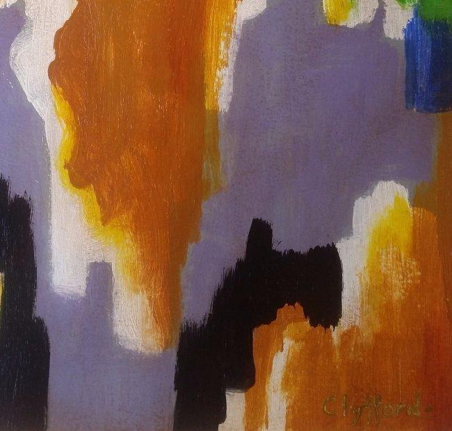 Clyfford Still Abstract Expressionism (1904-1980) - 3
