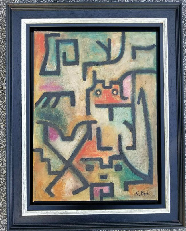 Paul Klee Mixed Abstract Expressionist Swiss German Art - 2