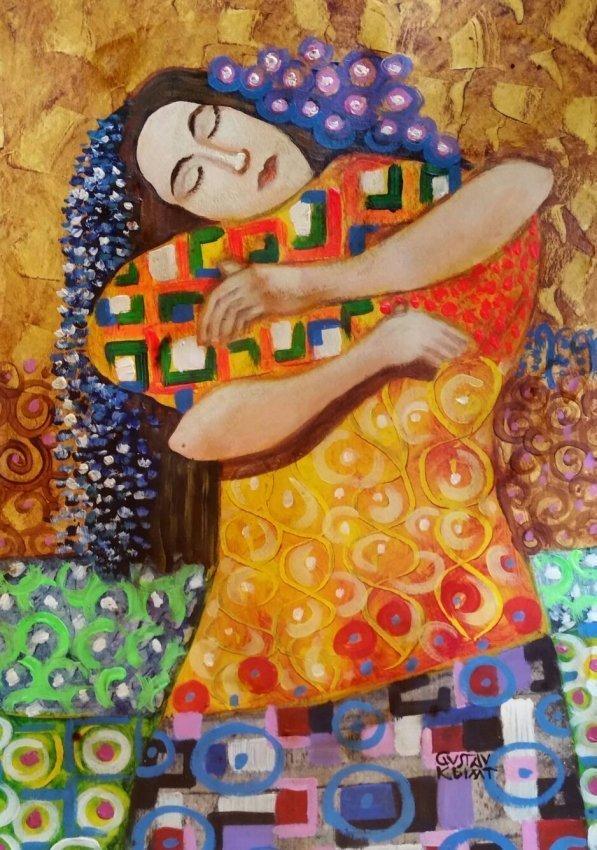 Gustav Klimt Mixed Media Women Men Austrian