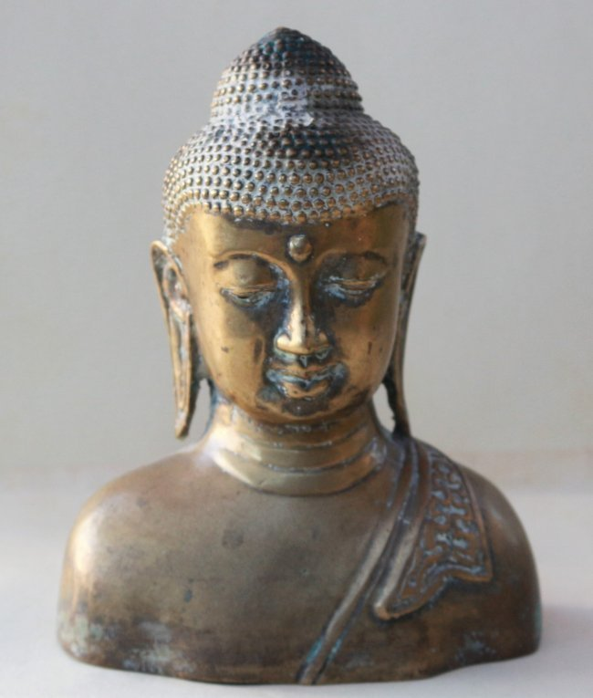 Buddha Antique Bronze Statue Figure Sculpture