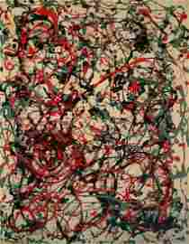 Jackson Pollock Abstract Expressionism (1912-1956)