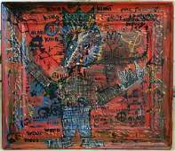 Jean Michel Basquiat Painting Abstract Expressionism