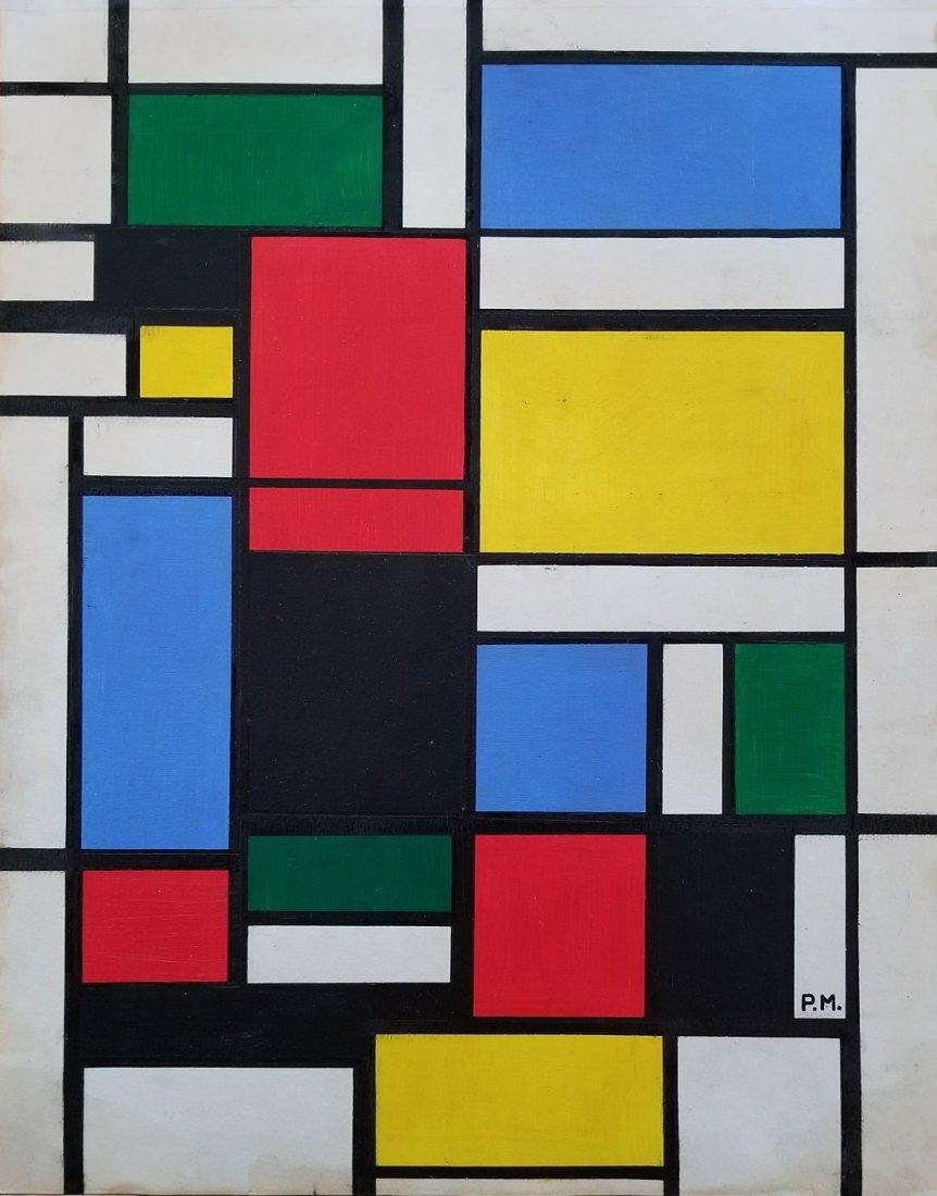 Piet Mondrian Geometric Neoplasticism Dutch 1872-1944