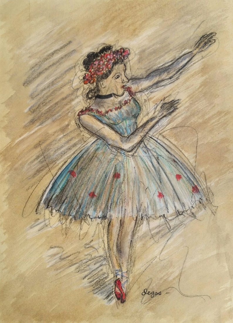 Attributed to: EDGAR DEGAS (French, 1834-1917)
