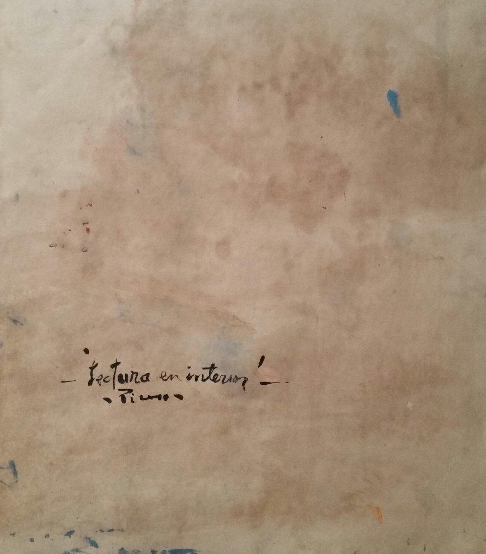 Pablo Picasso Blue Period (Attri ,Mixed Media ) - 4