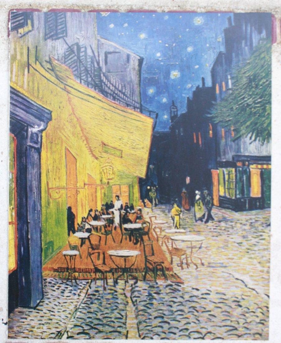Vincent Van Gogh Cafe Terrace At Night (1853-1890)