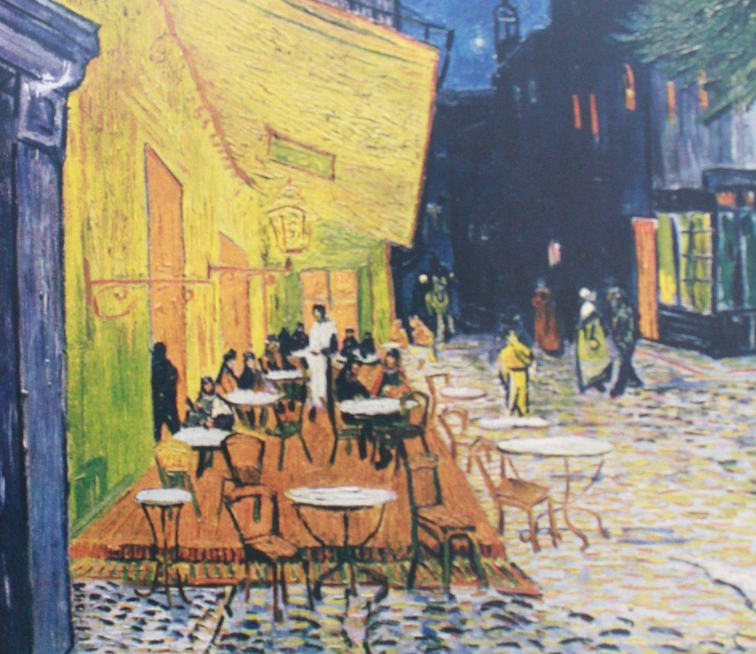 Vincent Van Gogh Cafe Terrace At Night (1853-1890) - 2