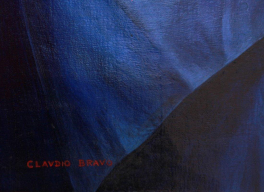 CLAUDIO BRAVO ,MIXED ON CANVAS (CHILE 1936-2011) - 2