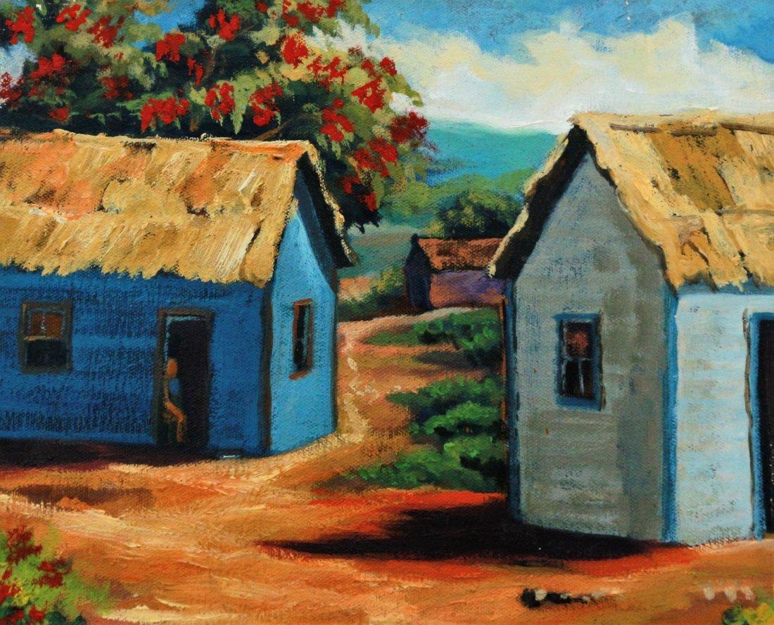 IVAN ORTIZ LANDSCAPE CARIBBEAN LATIN AMERICAN ART - 2