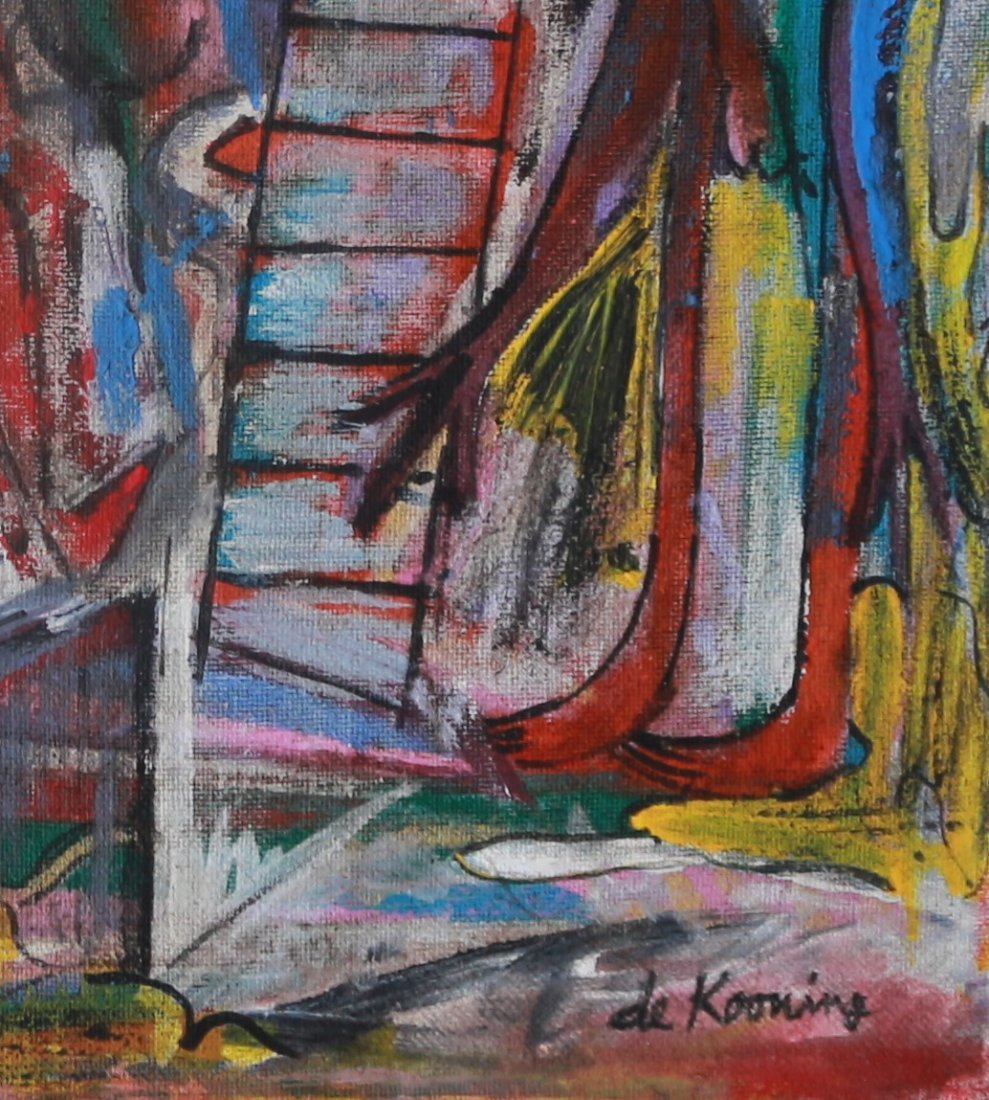 Willem de Kooning Abstract Expressionist (1904 – 1997) - 3