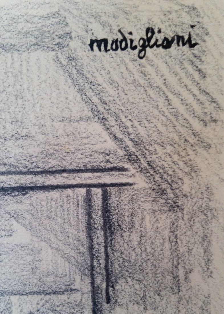 Amedeo Modigliani (Attri, Mixed media hard paper - 3
