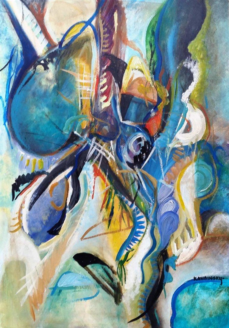 Wassily KANDINSKY Abstract Art (1866-1944) RUSSIAN