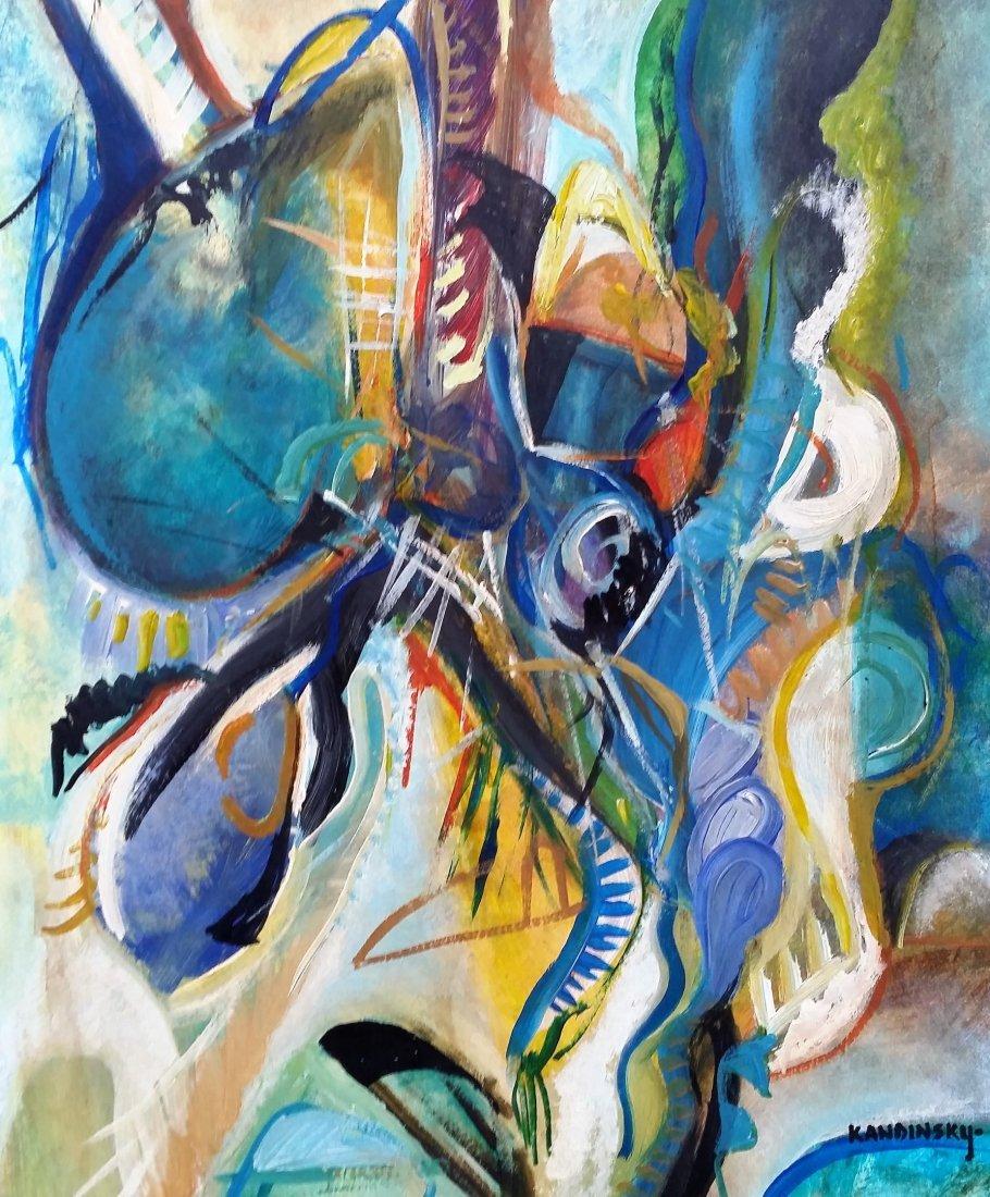 Wassily KANDINSKY Abstract Art (1866-1944) RUSSIAN - 2