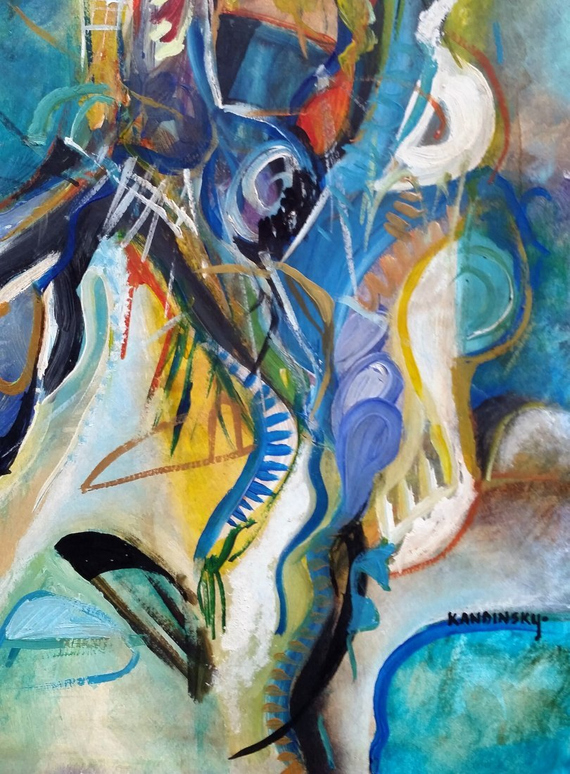 Wassily KANDINSKY Abstract Art (1866-1944) RUSSIAN - 3