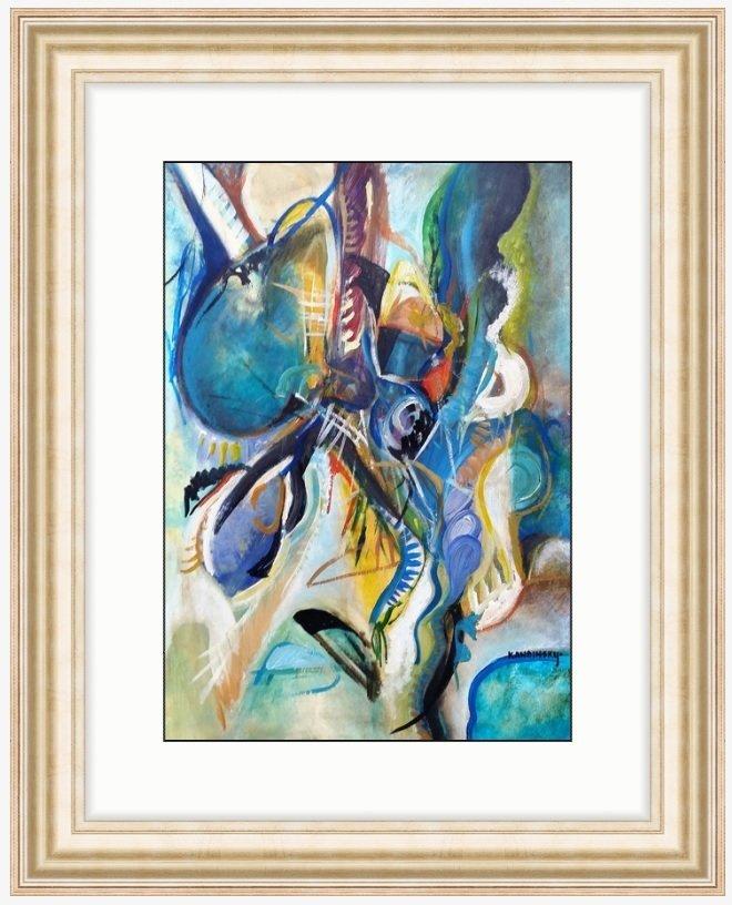 Wassily KANDINSKY Abstract Art (1866-1944) RUSSIAN - 4