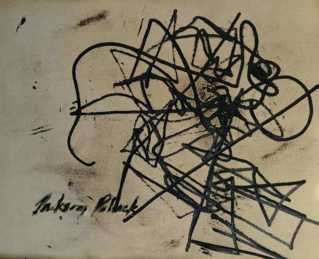 JACKSON POLLOCK ABSTRACT EXPRESSIONIST (1912-1956 ) - 2