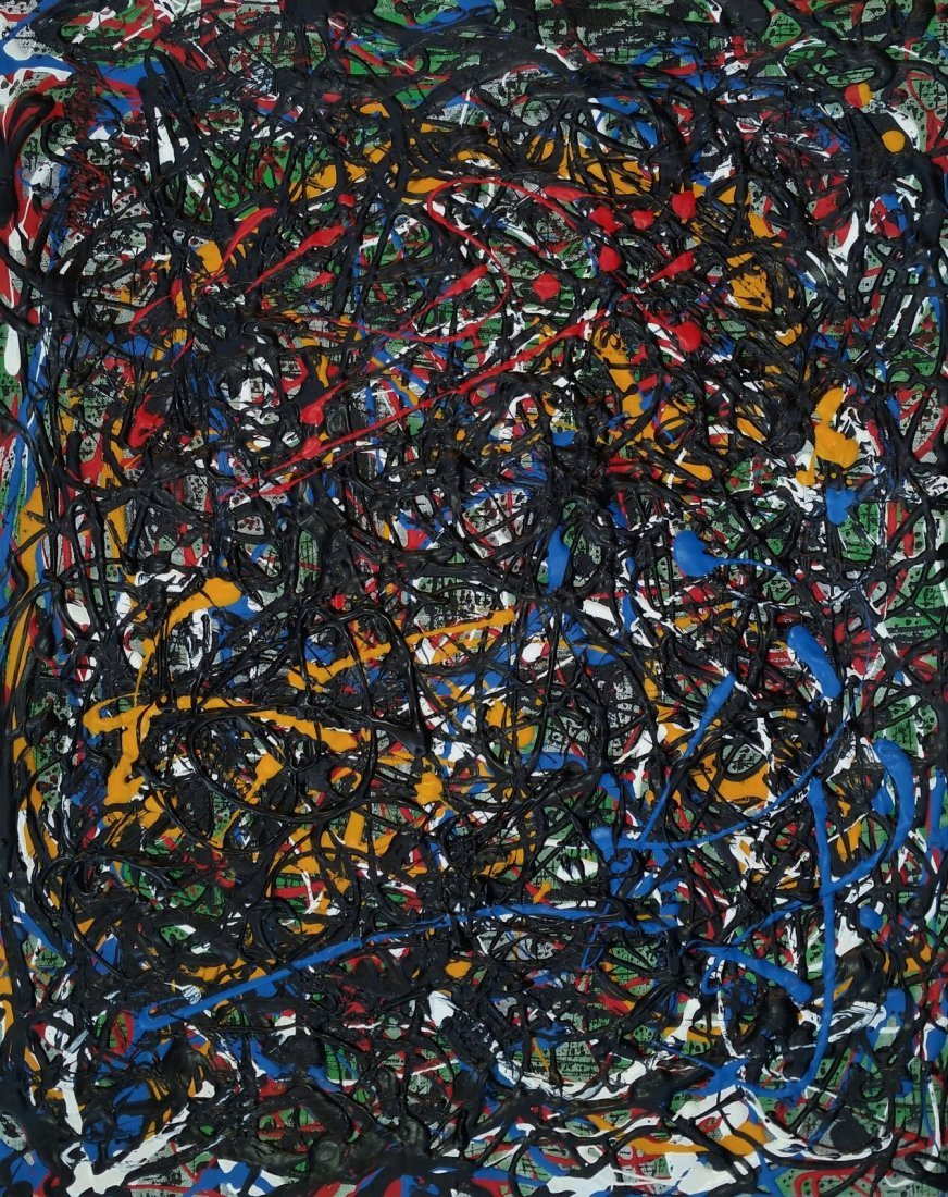 JACKSON POLLOCK ABSTRACT EXPRESSIONIST (1912-1956 ) - 3