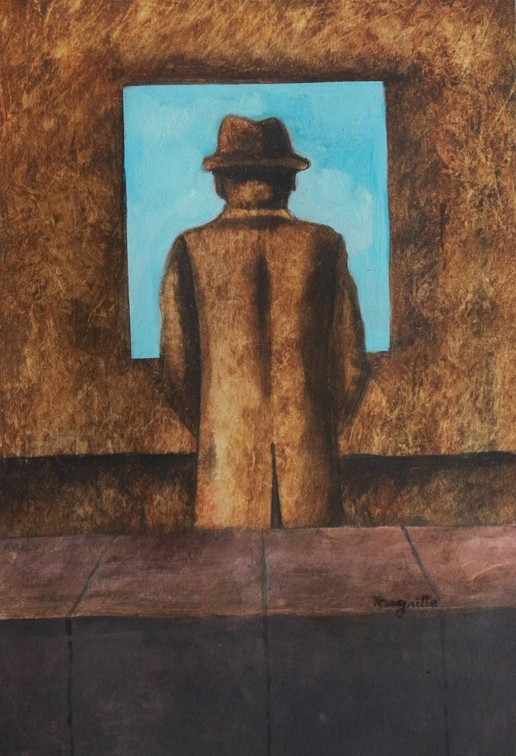Rene Magritte Mixed Media French Art (1898-1967)