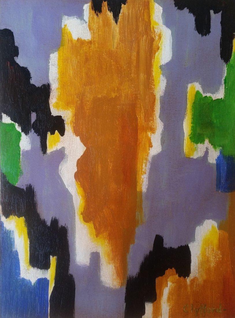 Clyfford Still Abstract Expressionism (1904-1980)