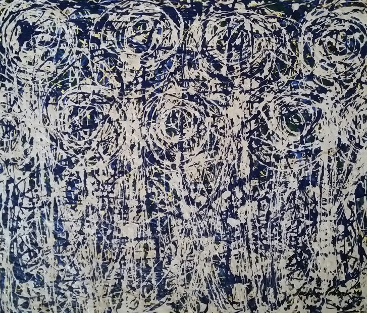 Jackson Pollock Abstract Expressionism (1912-1956 )