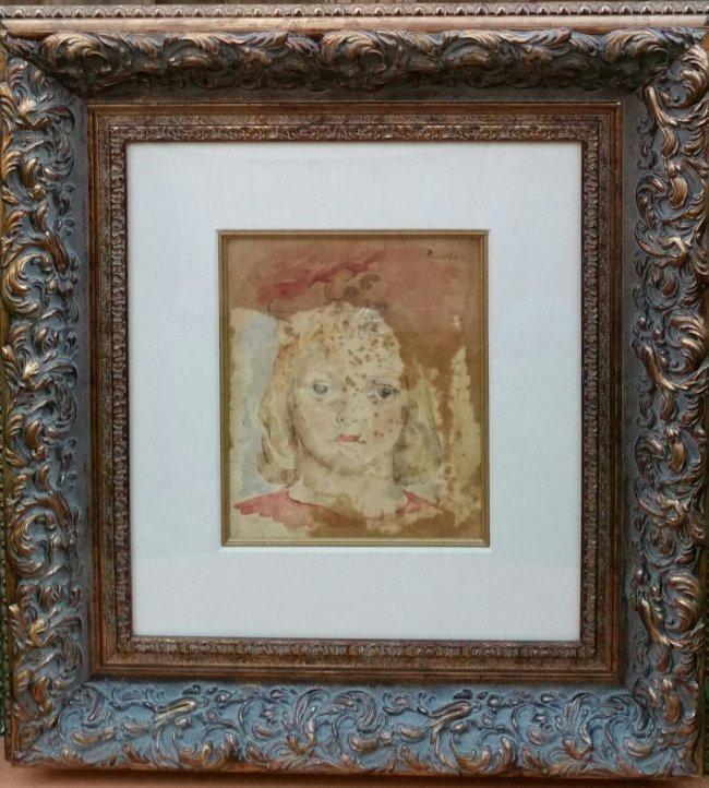 Pablo Picasso Portrait Women Child (1881-1973)