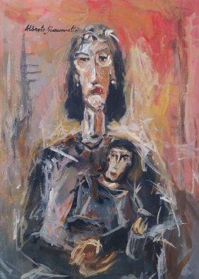 Alberto Giacometti Women Maternity Swiss (1901-1966)