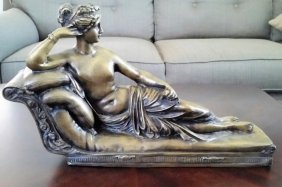 Venus Victrix After Canova G.Ruggeri Bronze Women 20th