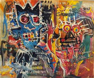 Jean Michel Basquiat Drawing Painting (1960 - 1988)