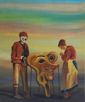 Salvador Dali Spanish Surrealism Art Drawing 1904-1989