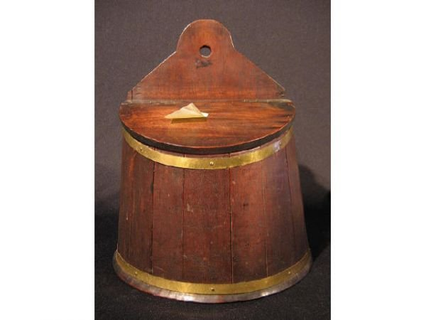 2022: Early Wall Mounted Candle Box Ca. 1860s