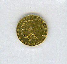 11: Indian Head Gold Coin 1927 $2.50