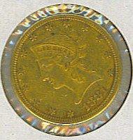 13: 1881 Liberty Head $10 Gold Eagle Coin CC