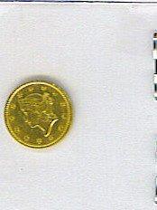 21: 1852 $1 One Dollar Gold Coin