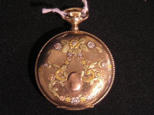 23: Waltham  Multicolored Pocket Watch